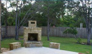 554 Mission Hill Run New Braunfels Texas 78132 - fireplace